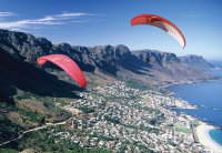 Tandem paragliding in Cape Town is safe, fun and easy!